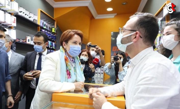 İYİ Parti Genel Başkanı Akşener Zonguldak'ta konuştu:
