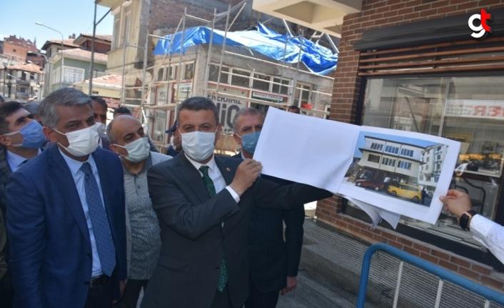 Kültür ve Turizm Bakan Yardımcısı Alpaslan, Sinop'ta restorasyon çalışmalarını inceledi