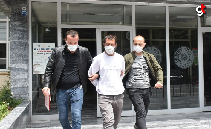 Samsun'da karga lakaplı kuş hırsızı şüphelisi yakalandı