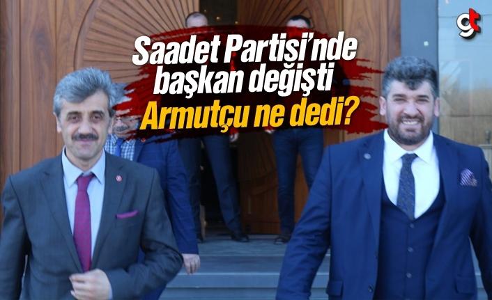 Samsun Saadet Partisi'nde il başkanı değişti, Salih Şen oldu