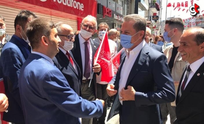 TDP Genel Başkanı Mustafa Sarıgül, Zonguldak'ta basın toplantısı düzenledi: