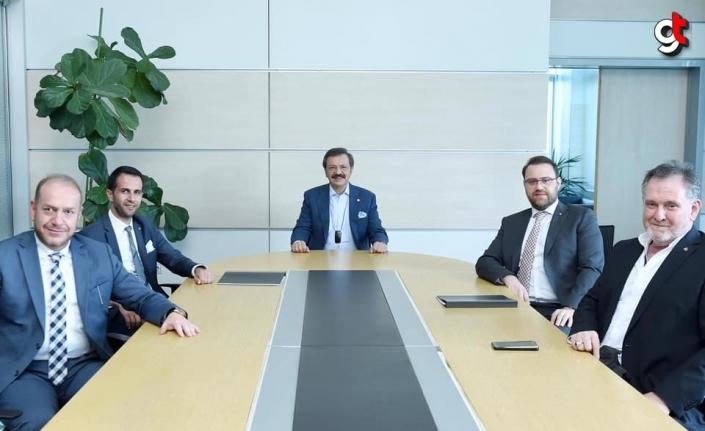 TOBB Başkanı Hisarcıklıoğlu Karabüklü ihracatçıları tebrik etti