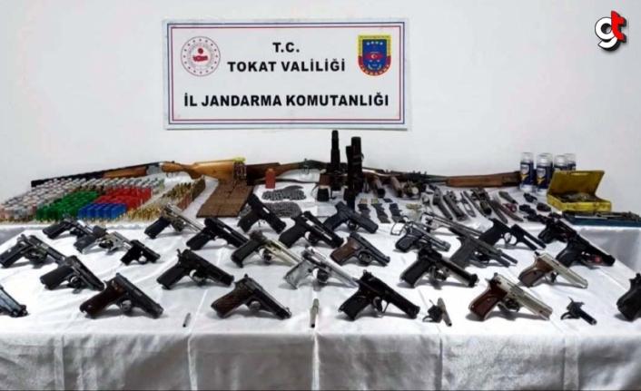 Tokat'ta evini silah atölyesine çeviren kişi yakalandı