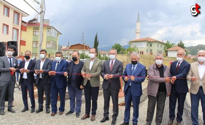 Tosya'da 100 yataklı Proje Yatılı Kız Kur'an Kursu'nun temeli atıldı