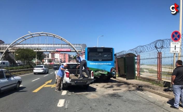 Trabzon'da zincirleme trafik kazası: 2 ölü, 4 yaralı