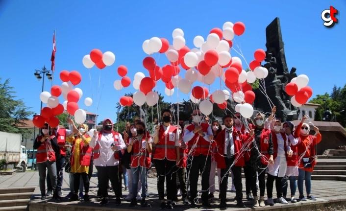 Türk Kızılayın kuruluşunun 153'üncü yıl dönümü Çankırı ve Kastamonu'da kutlandı