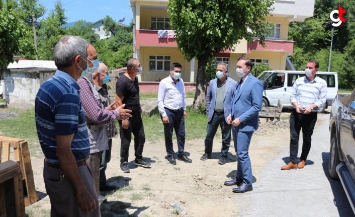 Ulus Kaymakamı Kılıç'tan köy ziyaretleri