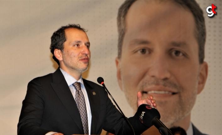 Yeniden Refah Partisi Genel Başkanı Erbakan, partisinin Sinop İl Kongresi'ne katıldı