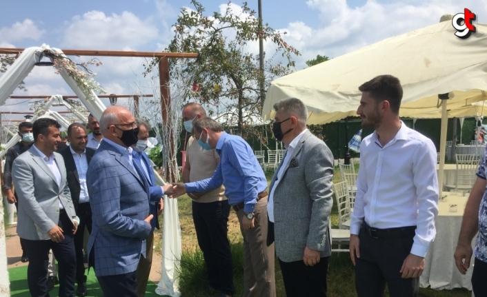 AK Parti Çarşamba İlçe Başkanlığında bayramlaşma töreni düzenlendi
