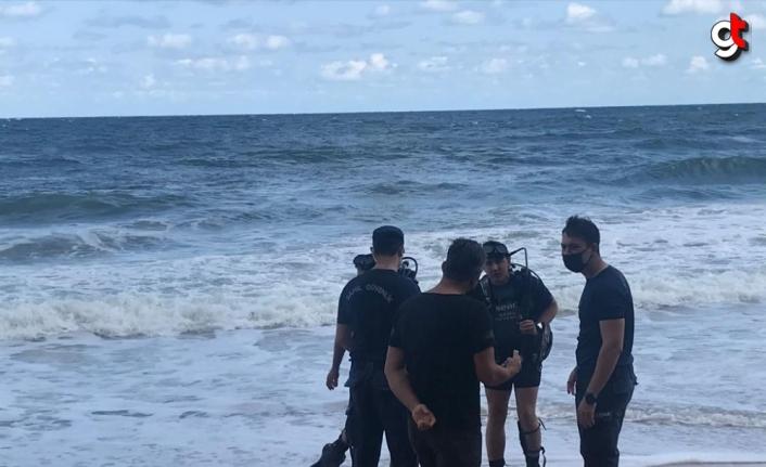 Bartın'da denize giren çocuk boğuldu