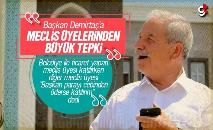 Başkan Necattin Demirtaş'a Meclis Üyelerinden Büyük Tepki