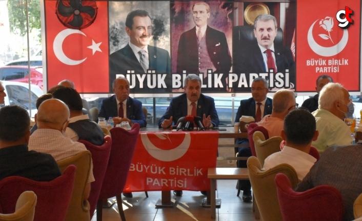 BBP Genel Başkanı Destici, Ordu'da partililerle bir araya geldi:
