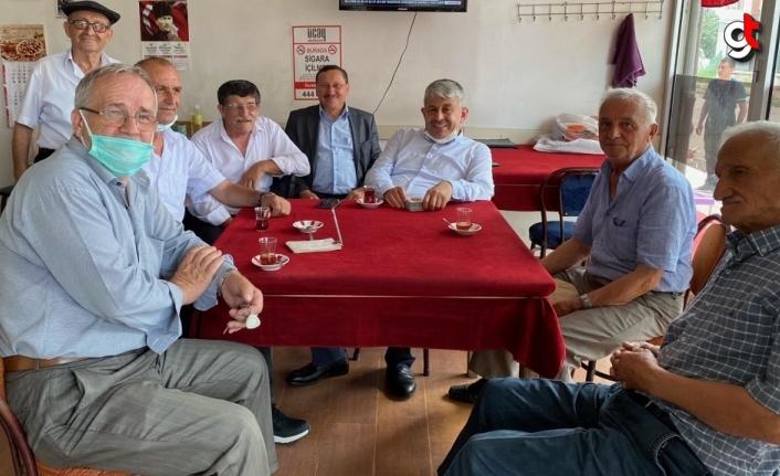 Espiye Belediye Başkanı Karadere esnafla bayramlaştı