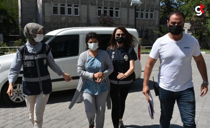 Samsun'da polis eşini öldüren kadın tutuklandı