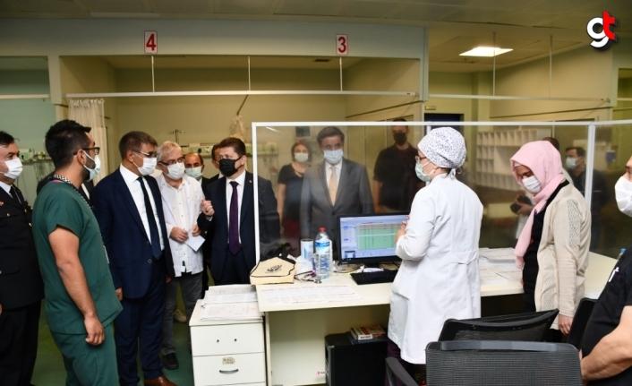 Karabük'te protokolden kurumlara bayram ziyareti
