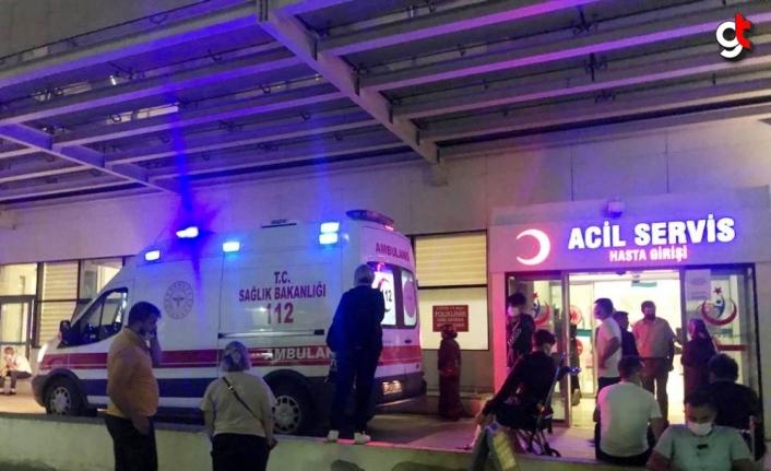 Kastamonu'da otomobille kamyonet çarpıştı: 5 yaralı