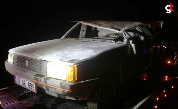 Kastamonu'daki trafik kazalarında 5 kişi yaralandı