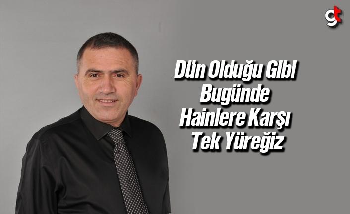 MHP'li Burhan Mucur'dan Kurban Bayramı mesajı