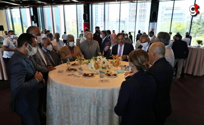 Samsun'da Kurban Bayramı dolayısıyla bayramlaşma töreni düzenlendi