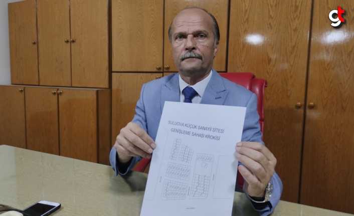 Suluova Küçük Sanayi Sitesi'ne 76 yeni iş yeri yapılacak