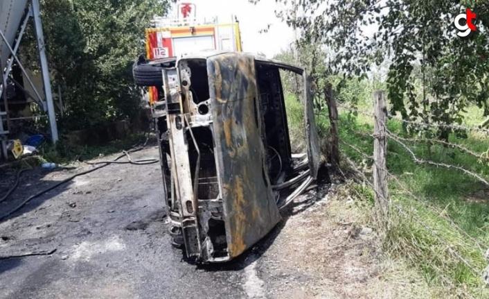 Zonguldak'ta çıkan çiftlik yangınında 12 bin hindi yavrusu telef oldu