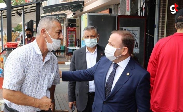 AK Parti Giresun Milletvekili Öztürk ilçe ziyaretleri gerçekleştirdi