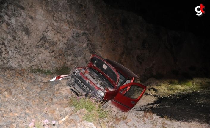 Artvin'de otomobil şarampole devrildi: 4 yaralı