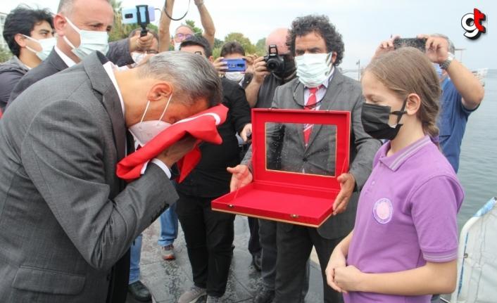 Atatürk'ün Sinop'a gelişinin 93. yıl dönümü kutlandı