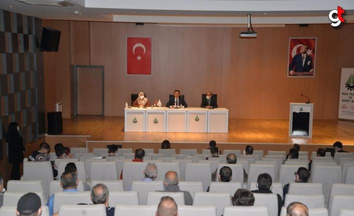 Bolu'da yaşayan yabancıların temsilcileriyle toplantı yapıldı