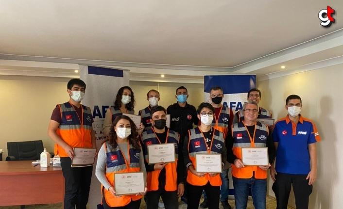 Bozkurt'ta sel felaketinde görev yapan ekiplere teşekkür belgesi verildi