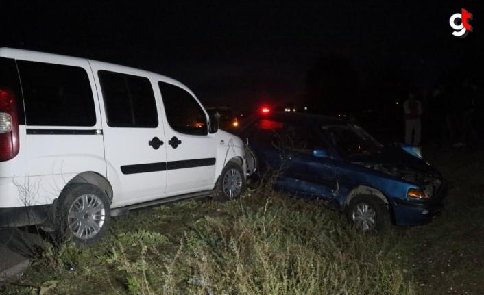 Düzce'deki zincirleme trafik kazasında 1 kişi öldü, 3 kişi yaralandı