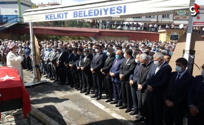 Eski AK Parti Gümüşhane Milletvekili Temel Yılmaz, son yolculuğuna uğurlandı