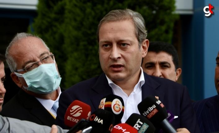 Galatasaray Başkanı Elmas, milli takıma Fatih Terim'in istenmesi durumunda buna izin vermeyeceklerini söyledi: