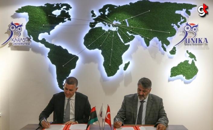 Karabük Üniversitesi ile Libya arasında eğitimde iş birliği protokolü imzalandı