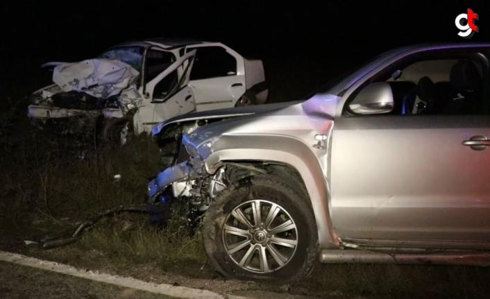 Karabük'te trafik kazasında 2 kişi öldü, 6 kişi yaralandı