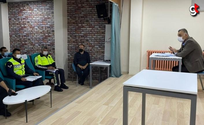 Kavak'ta Taşımalı Eğitim Toplantısı yapıldı