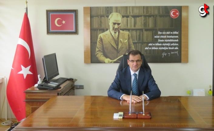 Merzifon Kaymakamı Güldoğan görevine başladı