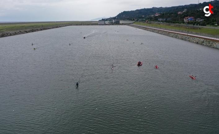 Ordu Durgun Su Sporları Merkezi ve Kamp Alanı ilk sporcularını ağırladı