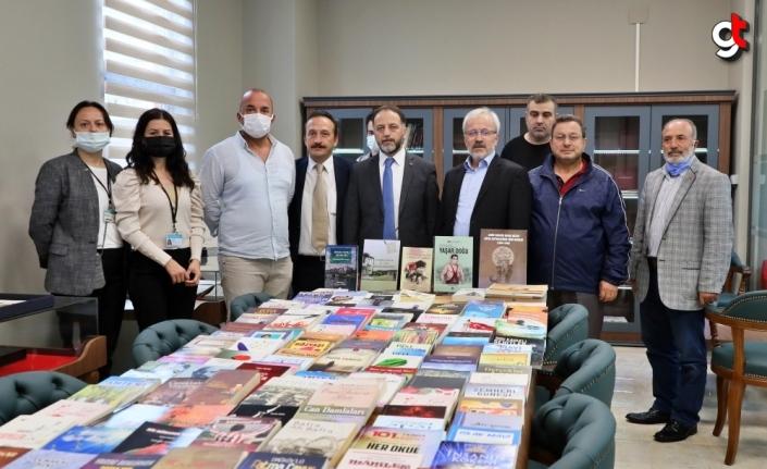 Samsunlu şair ve yazarların kitaplarının bulunduğu şehir kitaplığı okuyucularını bekliyor