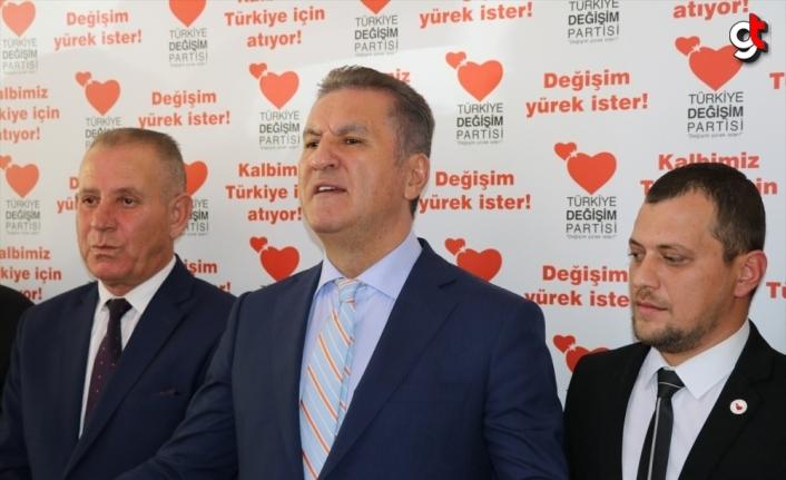 TDP Genel Başkanı Mustafa Sarıgül, Bolu'da partililerle buluştu