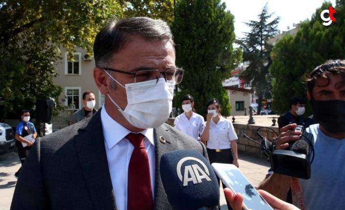 Tokat Valisi Balcı vatandaşları Kovid-19 aşısını yaptırmaya davet etti