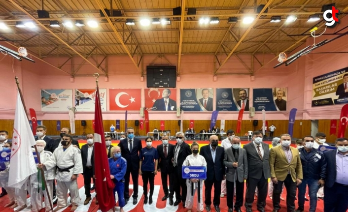 Türkiye Görme Engelliler Judo Şampiyonası Ordu'da başladı