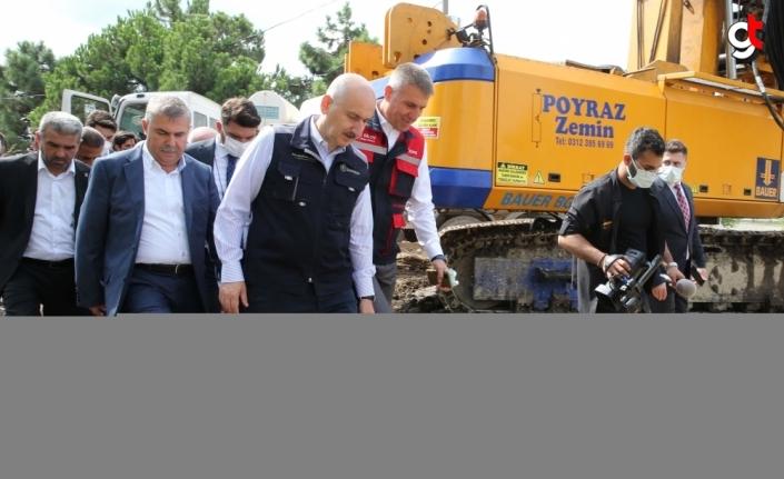 Ulaştırma ve Altyapı Bakanı Karaismailoğlu, Ayancık ilçesinde konuştu:
