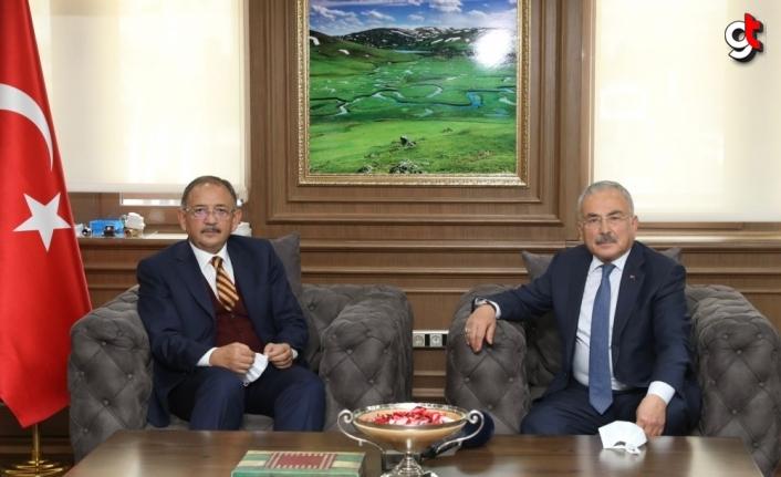 AK Parti Genel Başkan Yardımcısı Özhaseki'den Ordu Büyükşehir Belediyesine ziyaret: