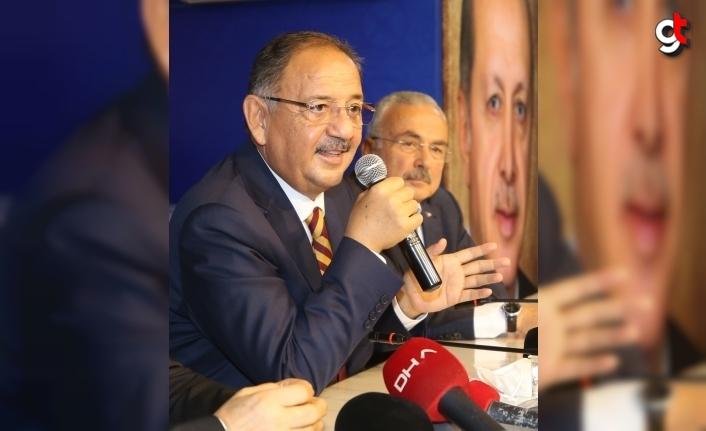AK Parti'li Özhaseki, Ordu'da partisinin il başkanlığında konuştu: