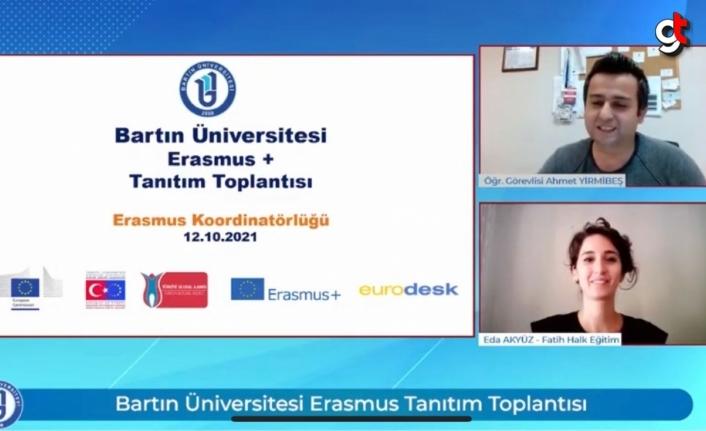 Bartın Üniversitesi öğrencilerine Erasmus+ programı tanıtıldı
