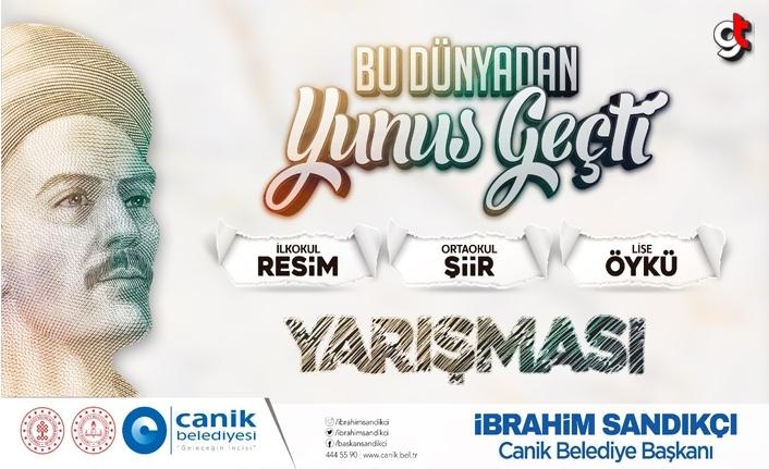 Canik'te Yunus Emre yarışması