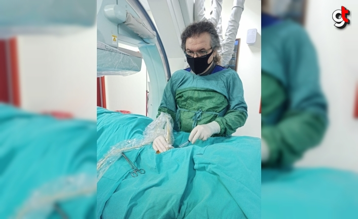 Ekstravasküler Remodelizasyon sistemiyle ilk kez derin venöz kapak tedavisi gerçekleştirildi