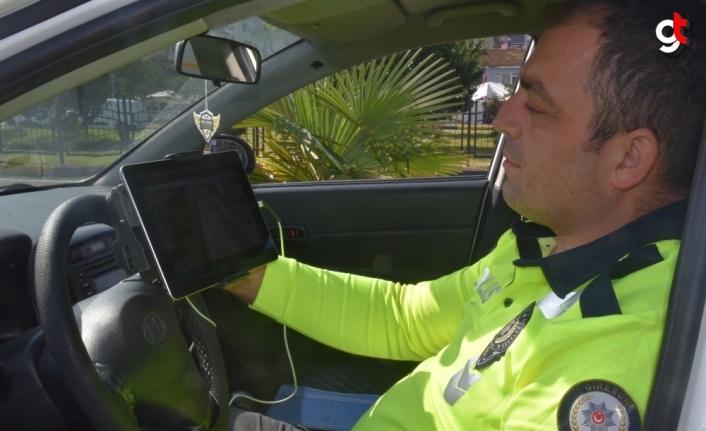 Görele'de drone destekli trafik denetimi gerçekleştirildi