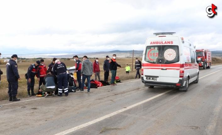 GÜNCELLEME - Kastamonu'da polis servisinin devrilmesi sonucu 12 polis yaralandı